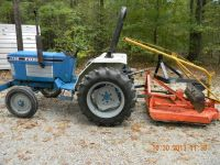 Ford 1987 diesel tractor