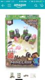 Minecraft Papercraft Animal Mobs Set. 80% Complete. Sells for $11 retail.
