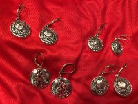 Lots Of Silver Earrings At one price