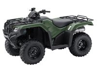 2017 Honda FourTrax Rancher 4x4 ES Utility ATVs New Bedford, MA