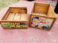 Larger Vintage Apple Crate California Produce