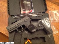 For Sale: Sig P250, .40 Cal - 2 Mags & Box/ Manual