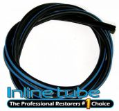 Find 1968 1969 GTO Hide-A-Way Vacuum Hose Blue Stripe For Firewall Lip 7 Feet 1pc motorcycle in Utica, Michigan, United States, for US $18.00
