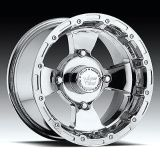 "Sell 12"" Vision 161 Bruiser ATV Wheels 12X7 4X136 BS4"" Chrome 161-127137C4 motorcycle in Holt, Michigan, US, for US $127.00"