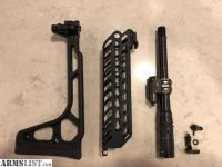 """For Sale: New MCX 9"""" 300 Blackout Barrel & Handguard, Thin Stock, Safety"""