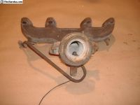 VW Rabbit 1.7 exhaust manifold 83 84 yr