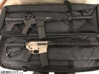 For Sale: 2 Custom Built AR-15 s