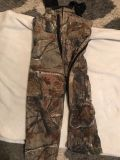Walls brand insulated overalls. Youth size 6.