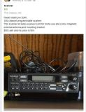 Police scanner for home or car with antenna