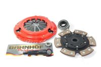 Purchase BAHNHOF STAGE 3 CLUTCH KIT FOR 89-90 NISSAN 240SX 2.4L KA24E 275-83 280ZX 2.8L motorcycle in Miami, Florida, United States, for US $127.99