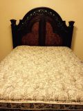 $250, Solid wood queen bed for sale
