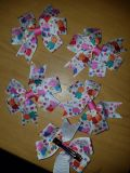 New Peppa Pig and friends 3.5 inch wide bows on alligator grip teeth clip. $1.50 each