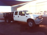 2004 Ford F-550 Crew Cab, 4x4, Stakebed, 48 K Miles