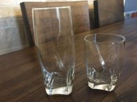 Threshold glasses from Target - rarely used. No chips. 6 large tumblers, 5 small