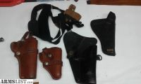 For Sale: 5 Assorted Pistol Holsters