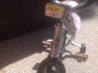 "Kid's 12"" Huffy Bike with Training Wheels"