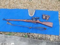 For Sale: Authentic Mosin Nagant PU Sniper Rifle. 7.62X54R. WW2