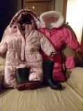 Toddler's 18/24 mo, Too 5t Snow suits boots and then misc boys and girls clothing