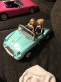 Mary Kate and Ashley dolls and car