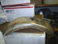 Purchase CT 70 REAR FENDER OFF A 1973 HONDA CT70 motorcycle in Sasser, Georgia, US, for US $20.00