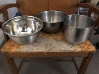 Misc stainless bowl set