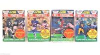 NEW Lot of 4 (68) Score 1990 NFL Football Trading Player & Trivia Cards SEALED!