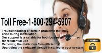 Norton Antivirus Support Toll Free 1-800-294-5907