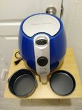 Air Fryer by Emeril Lagasse with pans