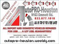 Brakes Tune-Up Suspension Steering Electrical Engine | Diagnostics | Repair