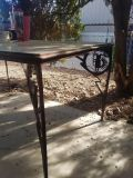 Southwestern glass/metal table & chairs
