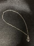 James Avery ankle bracelet and charm