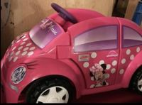 Power wheels fisher price Minnie Mouse ride on car 6 volt