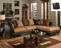 $489, C4170 Angled Arm Sofa and Love Seat Black or Brown