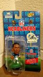 BARRY SANDERS / DETROIT LIONS * 3 INCH * 1996 NFL Headliners Football Collector Figure (T=6)