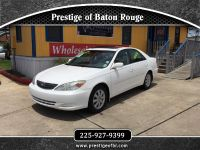 $6,995, 2002 Toyota Camry Used Car Lot
