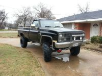 1984 chevy scottsdale lifted 4X4