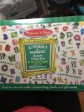 Mellisa and Doug alphabet and numbers sticker collection book