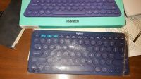 Logitech bluetooth wireless keyboard New in box switchable button computer. tablet,cell
