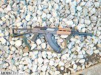 For Sale: M92 AK-47 pin and welded Barrel extension triangle style buttstock