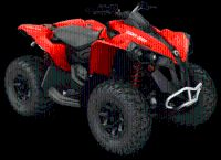 2018 Can-Am Renegade 850 Sport ATVs Clinton Township, MI