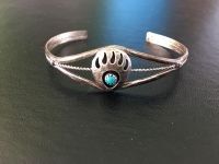 Costume bracelet Bear Claw and Turquoise
