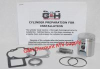 Sell Suzuki LT80 Quadsport Cylinder Top End Rebuild Kit Machining Service LT 80 ATV motorcycle in Somerville, Tennessee, United States, for US $174.95