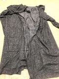 Long Sleeve Cardigan Grayson Threads Sleepware with Pockets Small
