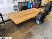 For Trade: 4x8 flatbed trailer
