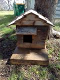 SMALL DOG OR CAT WOOD HOUSE FOR SALE