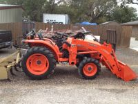 Complete equip. for aTractor business