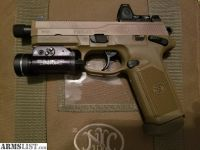 For Sale: FNX-45 Tactical FDE with Trijicon RMR & Streamlight TLR-1 HL