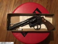 For Sale: 1955 Smith & Wesson .38 Special