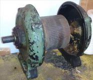 circa 1918 Oliver 51 lathe spindle and motor parts