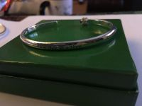 """New Silver cuff bracelet engraved with """"One Day at a Time"""""""